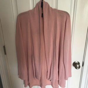 Bobeau pink cardigan